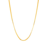 "ESCH 6907: 19.5"" Gold-Plated Box Chain (2mm)"