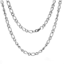 ESCH 5138: Glossy / Etched Mother & Son Chain (6mm)