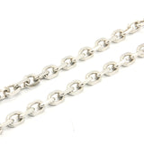 "ESCH 5953: 23"" XL Elongated Cable Chain (6mm)"