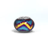 ESCM 4778: Murano Hip & Cool Charm (Blue, Yellow, Red)