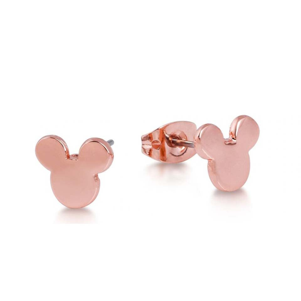 ESE 4930: Rose Gold Mickey Mouse Studs
