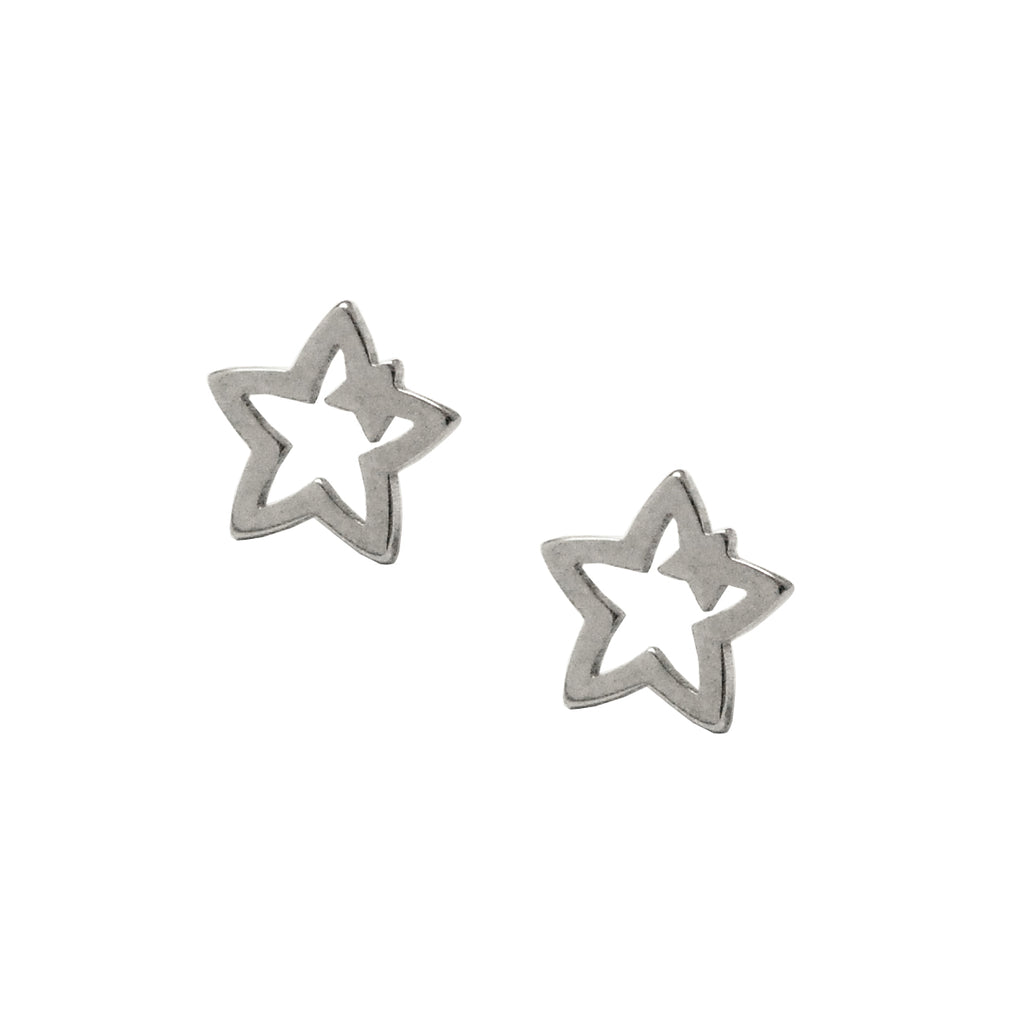 ESE 5539: Big Star Small Star Stud Earrings
