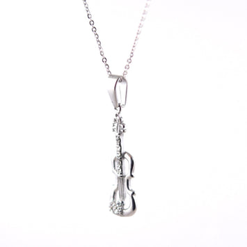 ESN 3778: Viola Necklace w/ 12 Mini Cz