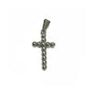ESP 6843: Med 12-Ball Crucifix Pendant