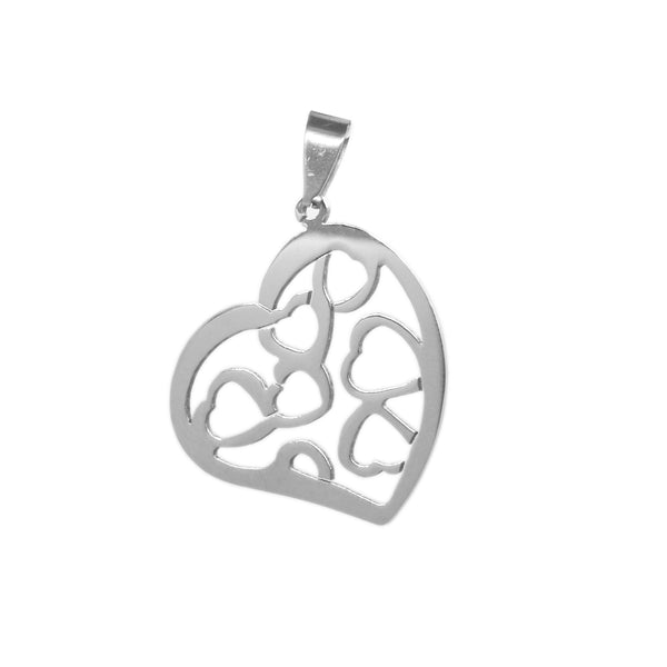 ESP 5032: Lotsa Heart Within A Heart Pendant