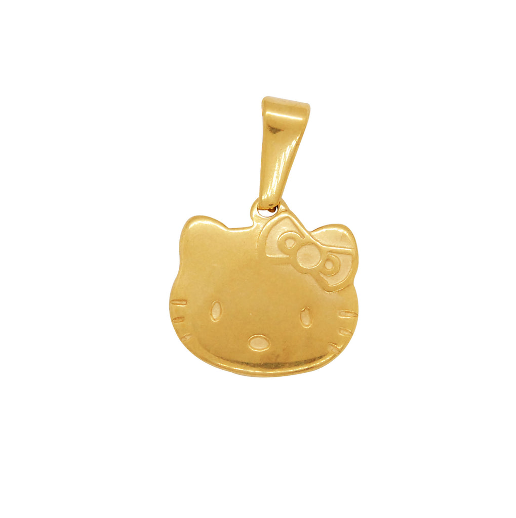ESP 5413: Gold Plated Hello Kitty Center Pendant
