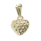 ESP 5656: Double-Sided Strawberry Heart Pendant