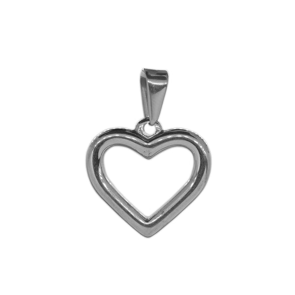 ESP 5757: Balanced Heart Outline Pendant