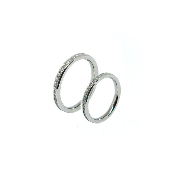 ESR 6968: Eugenie Super Thin Eternity Ring