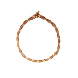 SET 5008: Rose Gold Large Twisted Necklace, Bracelet, Earring Set