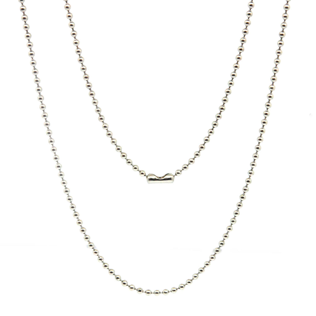 "ESCH 6414: 27"" Ultra-Thin Ball Chain (1mm)"
