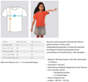 Kinder T-Shirt Meditation: Ich geh zum Yoga!  - Kinder T-Shirt
