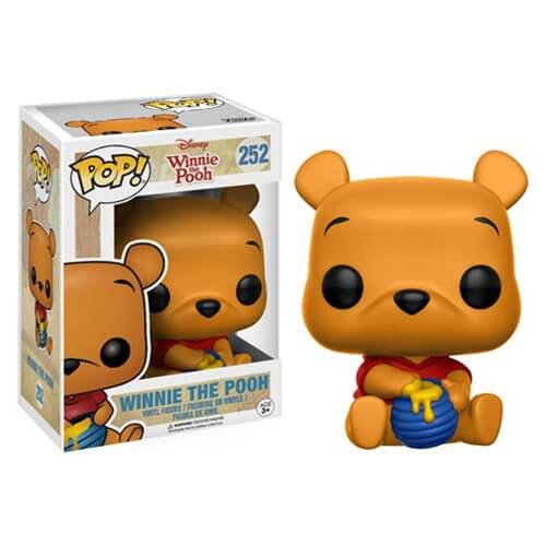 POP DISNEY SEATED POOH 3.75