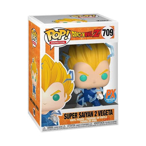 "POP ANIMATION DRAGON BALL Z SUPER SAIYAN 2 VEGETA 3.75"" FIGURE (PX EXCLUSIVE)"
