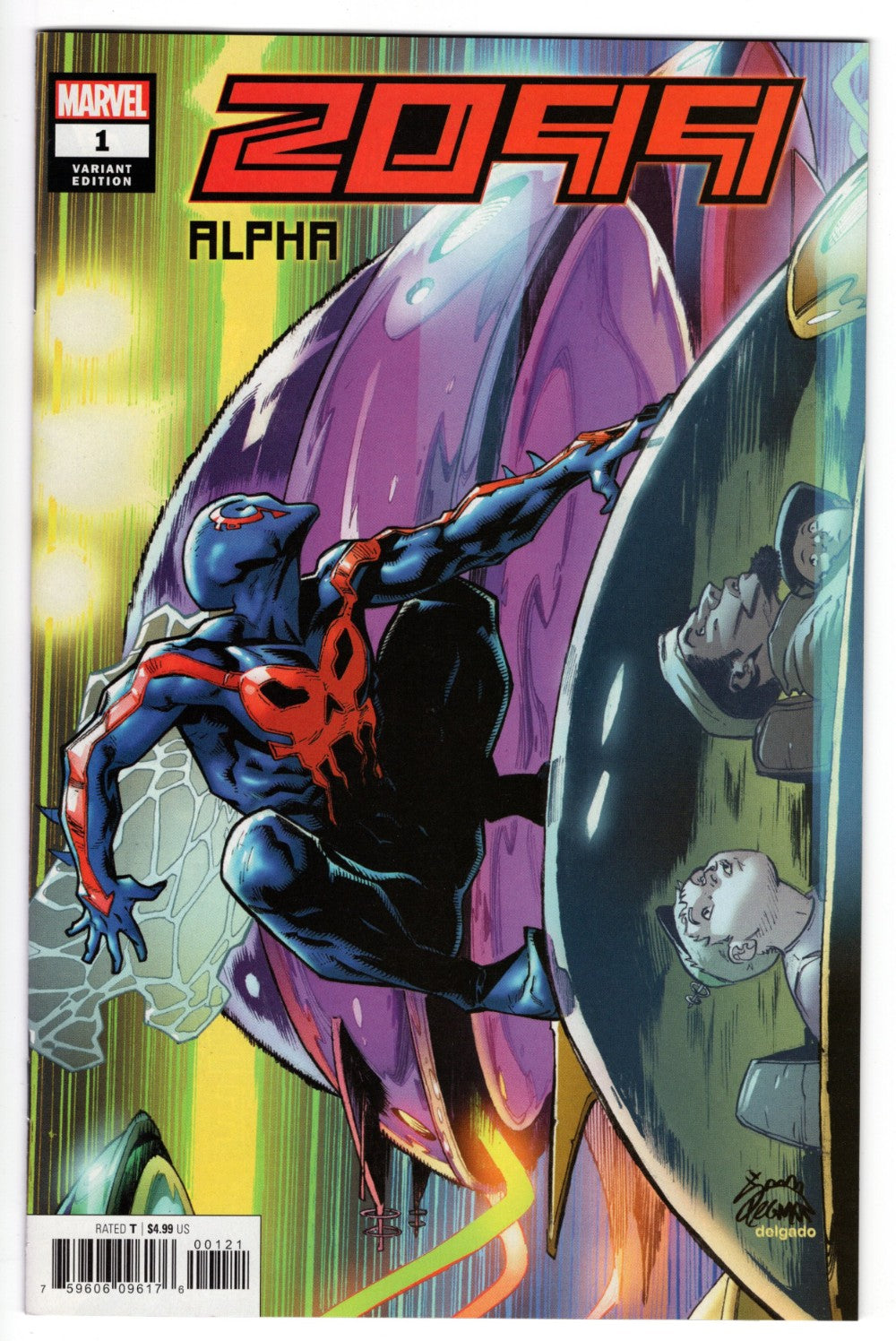 2099 ALPHA #1 1 in 50 RYAN STEGMAN VARIANT