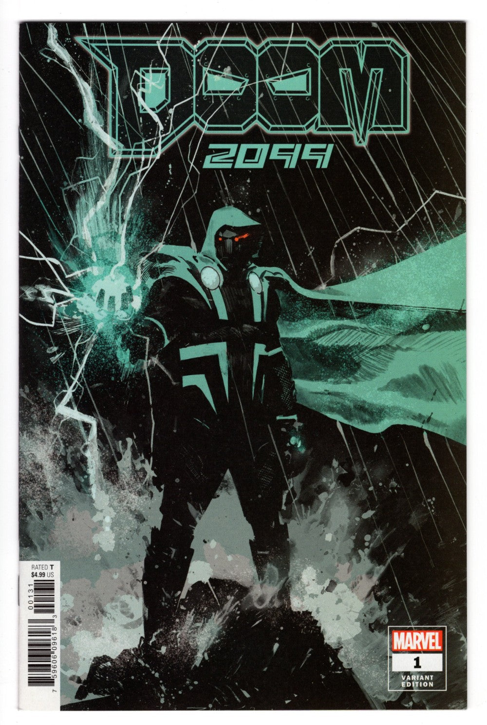 DOOM 2099 #1 1 in 50 GEREADO ZAFFINO VARIANT