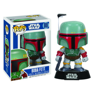 "POP STAR WARS BOBA FETT 3.75"" FIGURE"