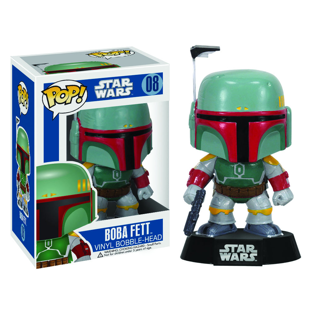 POP STAR WARS BOBA FETT 3.75