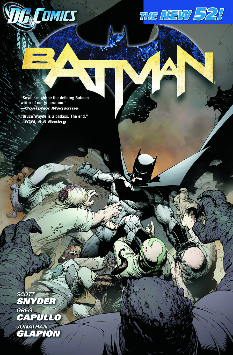 BATMAN VOL 01 THE COURT OF OWLS TP (N52)