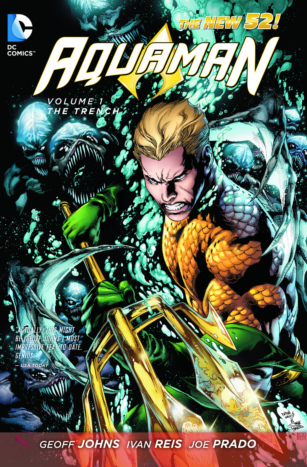 AQUAMAN VOL 01 THE TRENCH TP (N52)