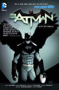 BATMAN VOL 02 THE CITY OF OWLS TP (N52)