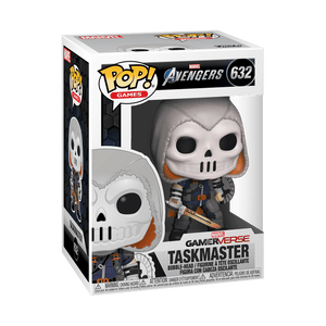"POP MARVEL GAMES AVENGERS TASKMASTER 3.75"" FIGURE"