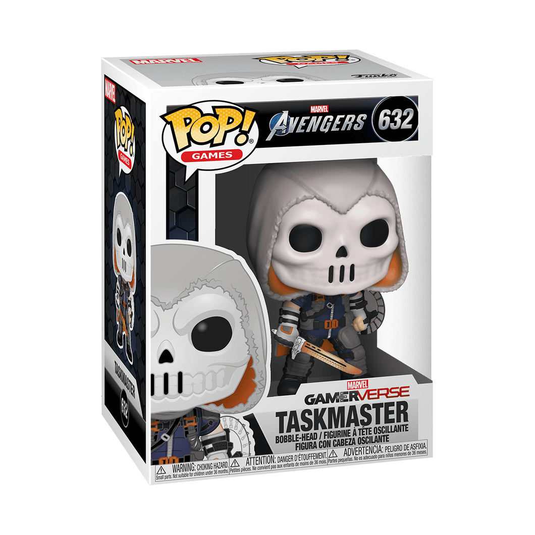 POP MARVEL GAMES AVENGERS TASKMASTER 3.75