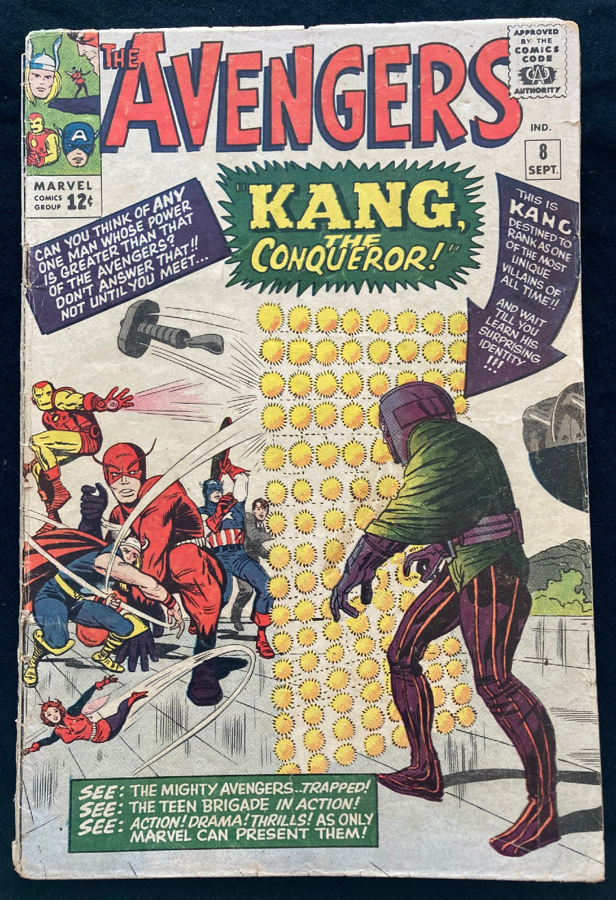 Avengers #8 1st Appearance of Kang the Conqueror