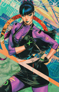 BATMAN #92 PUNCHLINE CARD STOCK ARTGERM VARIANT (JOKER WAR)