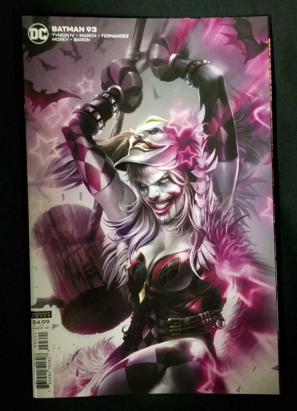 BATMAN #93 CARD STOCK MATTINA VARIANT (JOKER WAR)