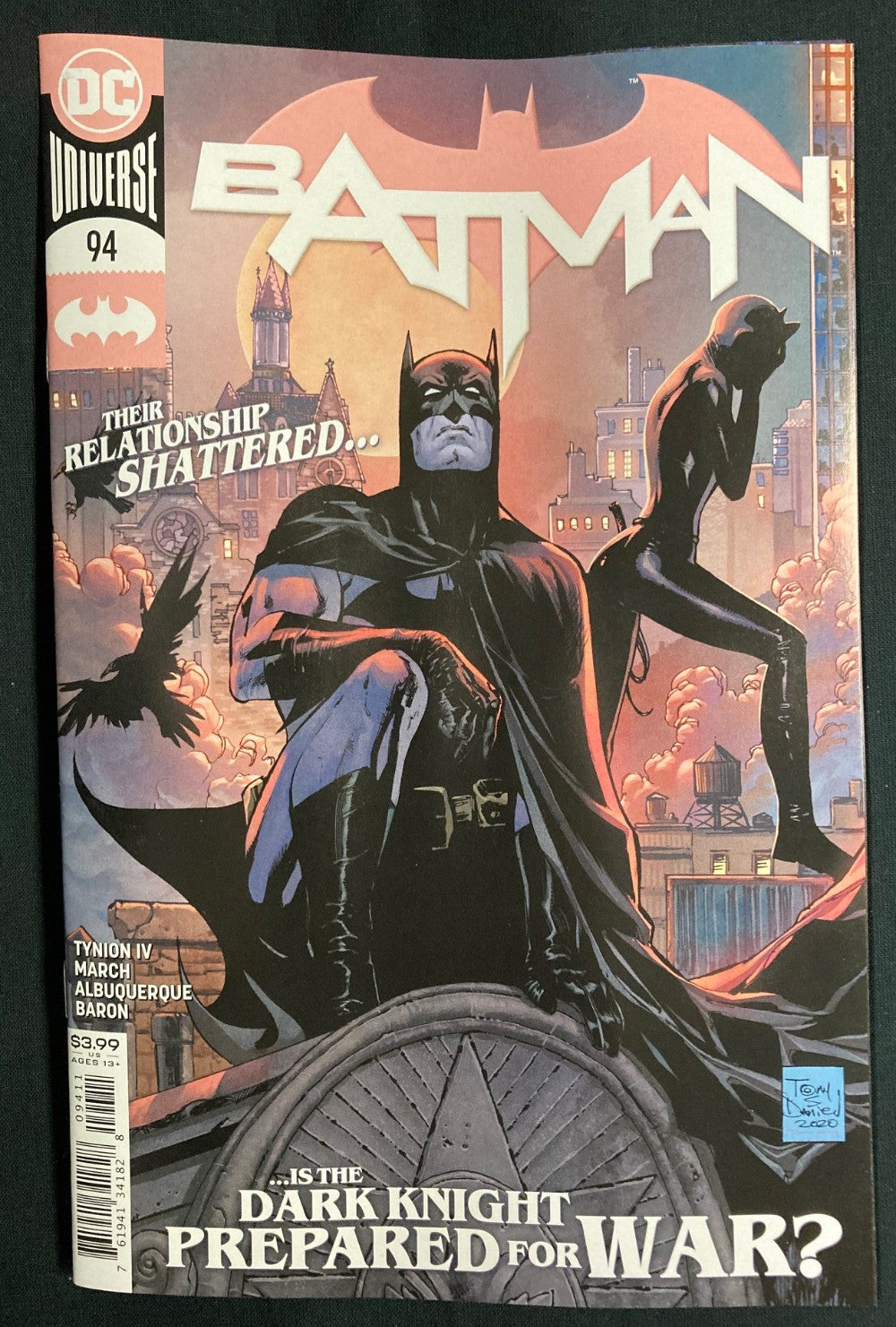 BATMAN #94 A REGULAR COVER (JOKER WAR)