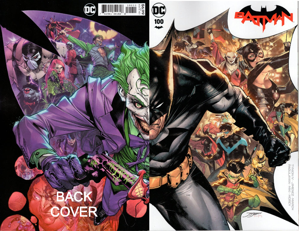 BATMAN #100 WRAPAROUND COVER (JOKER WAR)