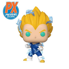 "Load image into Gallery viewer, POP ANIMATION DRAGON BALL Z SUPER SAIYAN 2 VEGETA 3.75"" FIGURE (PX EXCLUSIVE)"
