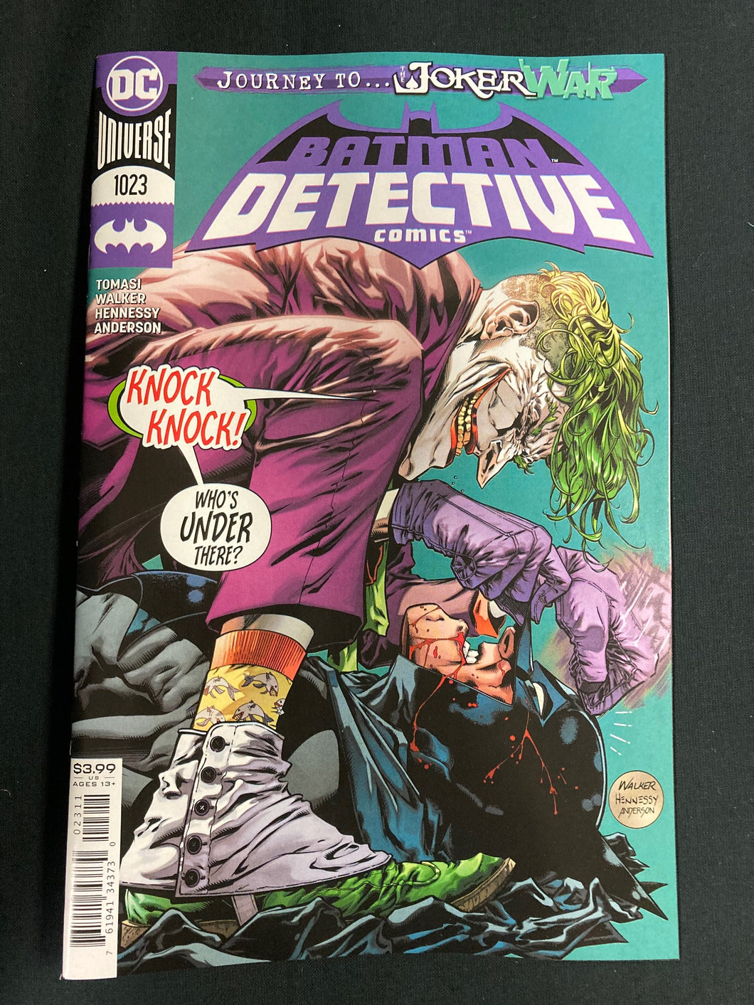 DETECTIVE COMICS #1023 (JOKER WAR)