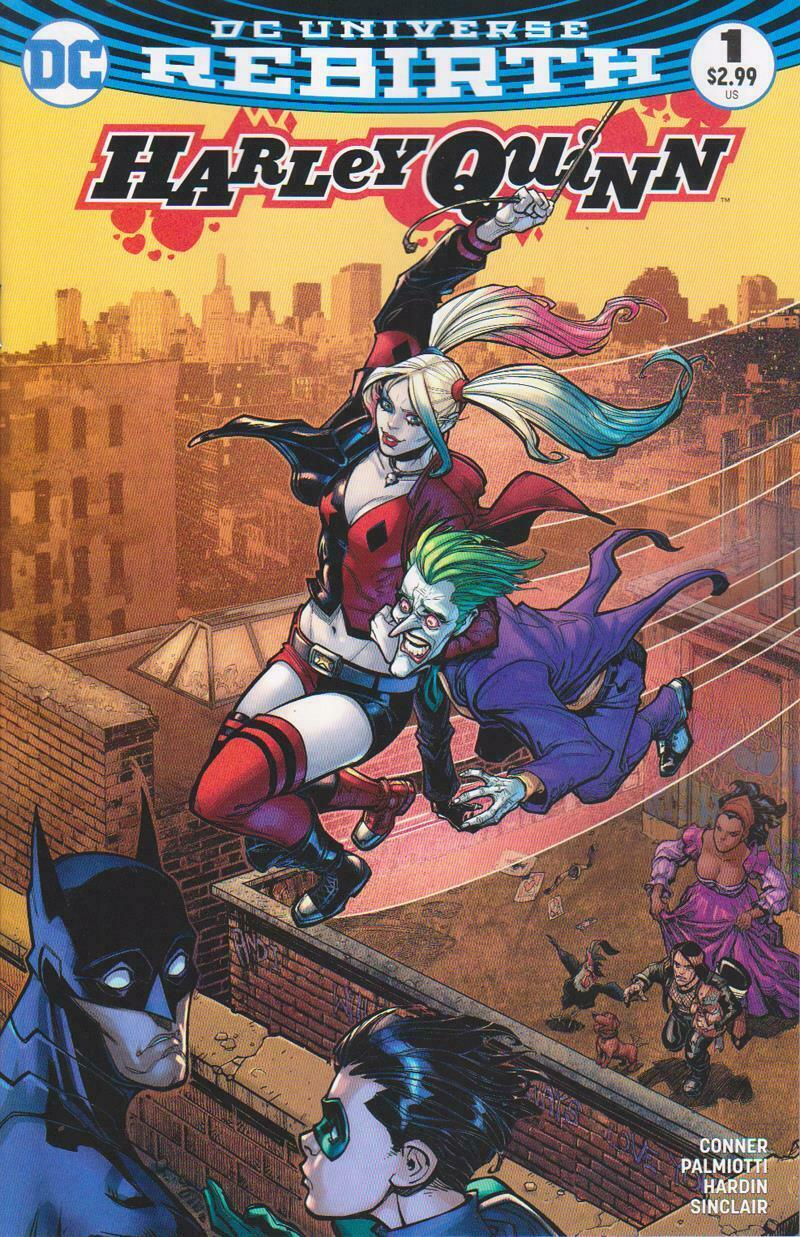 HARLEY QUINN #1 COMIC CENTRAL EXCLUSIVE VARIANT (COLOR)
