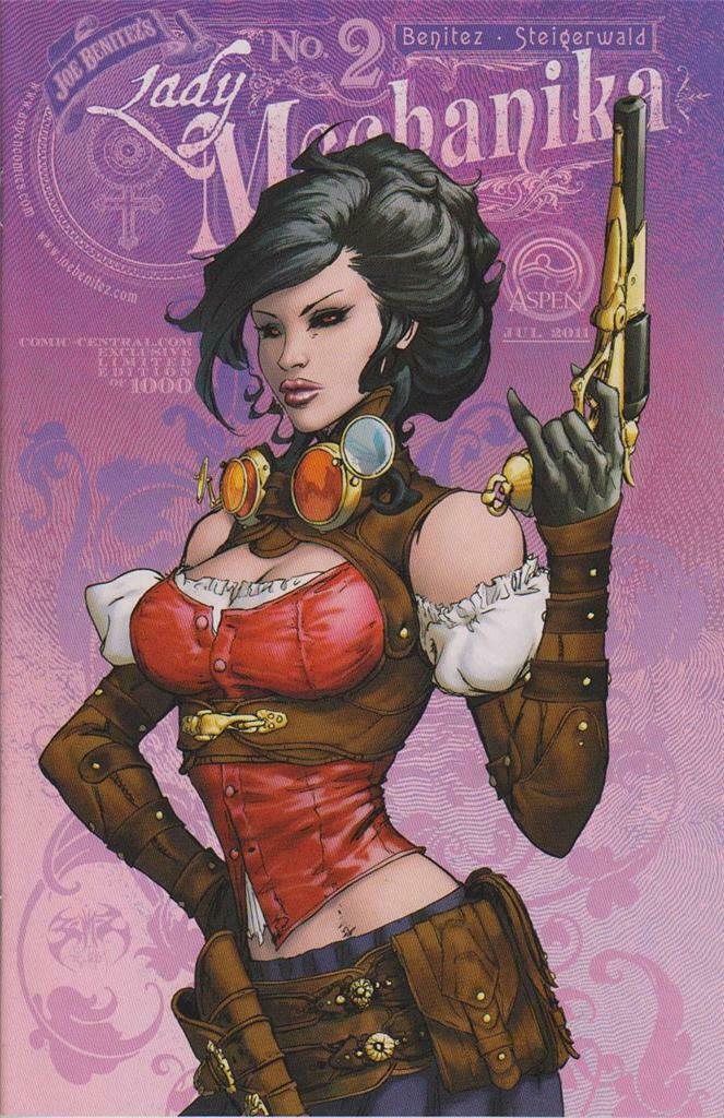LADY MECHANIKA #2 COMIC CENTRAL EXCLUSIVE VARIANT