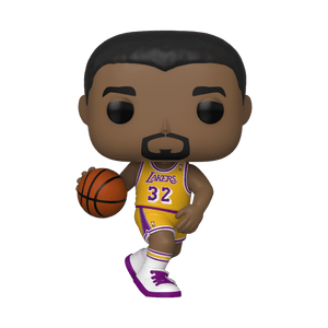 "POP NBA LEGENDS MAGIC JOHNSON LAKERS 3.75"" FIGURE"
