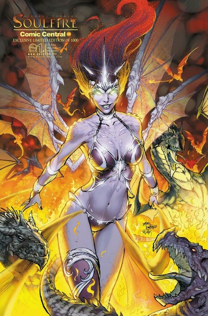 SOULFIRE #1 COMIC CENTRAL EXCLUSIVE MIKE DEBALFO VARIANT
