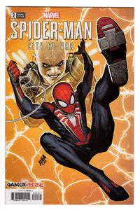 SPIDER-MAN CITY AT WAR #2 1 in 50 NAKAYAMA VARIANT