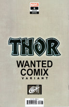 Load image into Gallery viewer, THOR #6 WANTED COMIX EXCLUSIVE GREG HORN VARIANT COVER