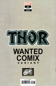 THOR #6 WANTED COMIX EXCLUSIVE GREG HORN VARIANT COVER
