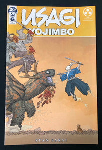 USAGI YOJIMBO #6 1 in 25 35TH ANNIVERSARY DARROW VARIANT (VFNM)