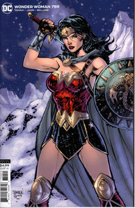 WONDER WOMAN #759 CARD STOCK JIM LEE VARIANT 1st LIAR LIAR