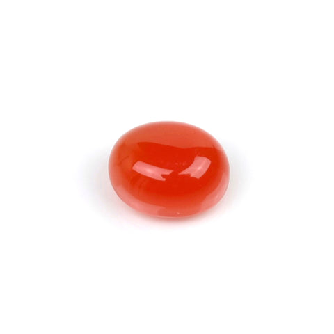 Cabochon pierre naturelle Ovale 8 x 10mm Onyx rouge