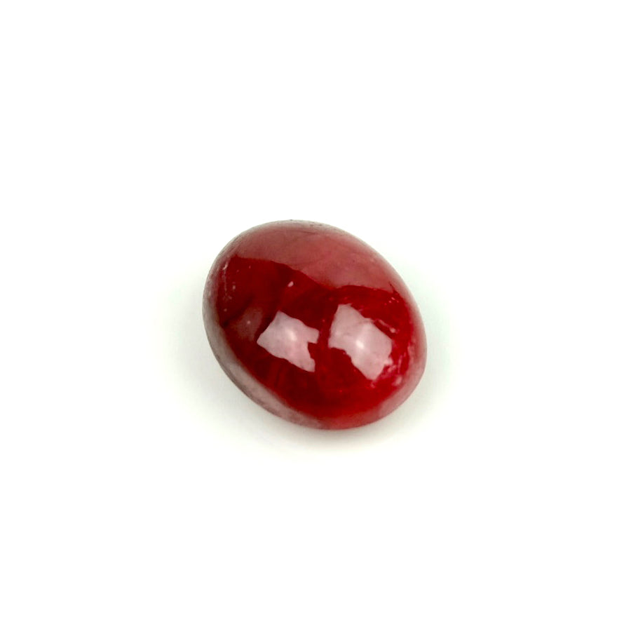 Cabochon pierre naturelle Ovale 8 x 10mm Ruby