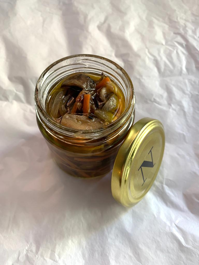 Escabeche de hongos (200ml)
