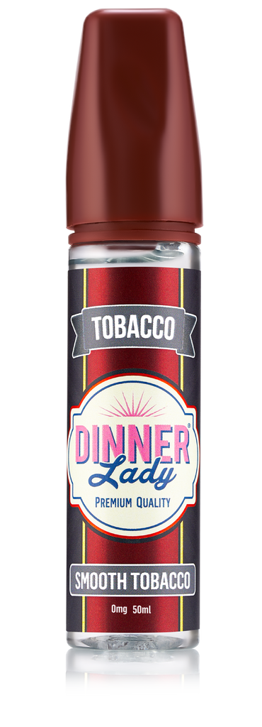 Dinner Lady - Smooth Tobacco 0mg 60ml