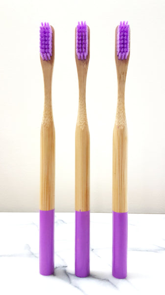 Bamboo Toothbrush (Medium Bristles)