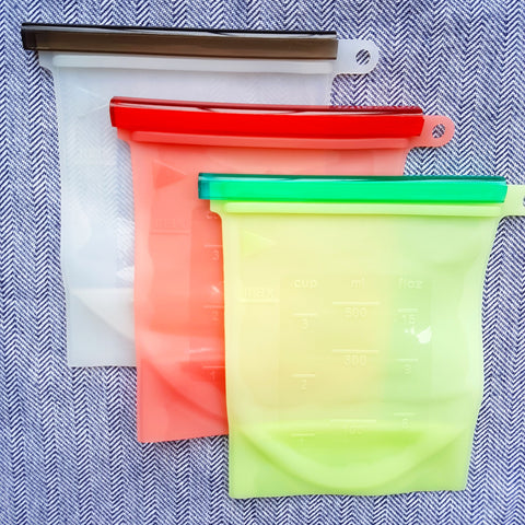 Reusable Silicone Food Bag (Small)