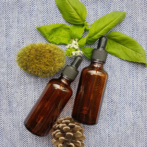 50ml Amber Essential Oil Bottle